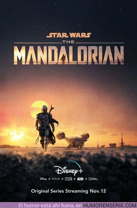 41396 - Primer póster oficial de The Mandalorian y fecha de estreno