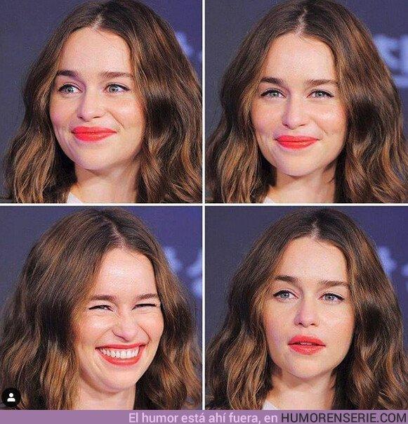41530 - Emilia es más expresiva en la vida real que interpretando a Daenerys
