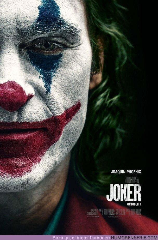 41540 - Espectacular póster de la película de El Joker