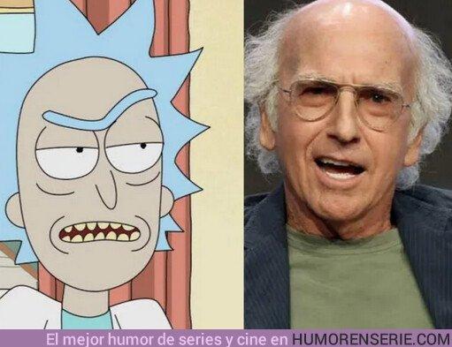 41568 - Larry David sería perfecto para el papel de Rick Sanchez