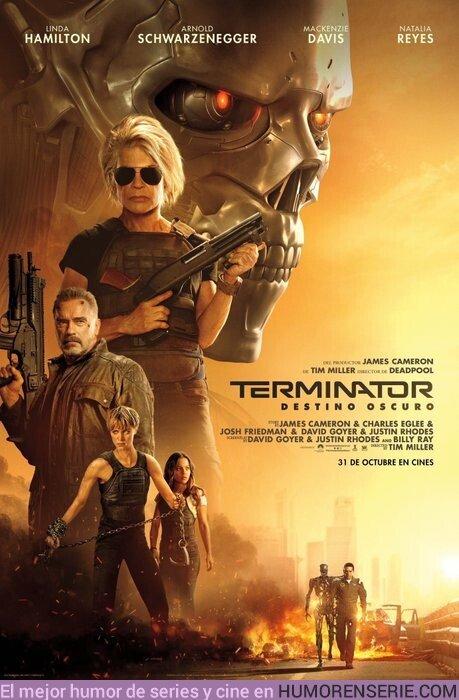 41581 - Póster de Terminator Destino Oscuro.  31 de Octubre en cines.