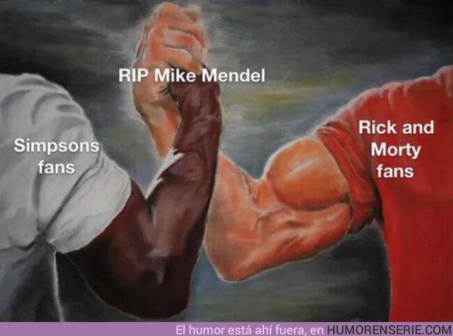42313 - Muere J. Michael Mendel, productor de 'Los Simpson' y 'Rick y Morty'