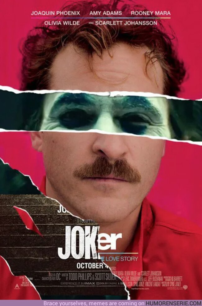 42568 - Genial mix de los posters de Her y Joker
