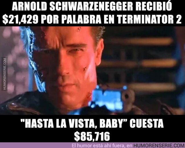 42578 - Qué fácil ganaba dinero Arnold Schwarzenegger