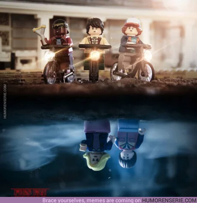 42626 - Stranger Things LEGO version
