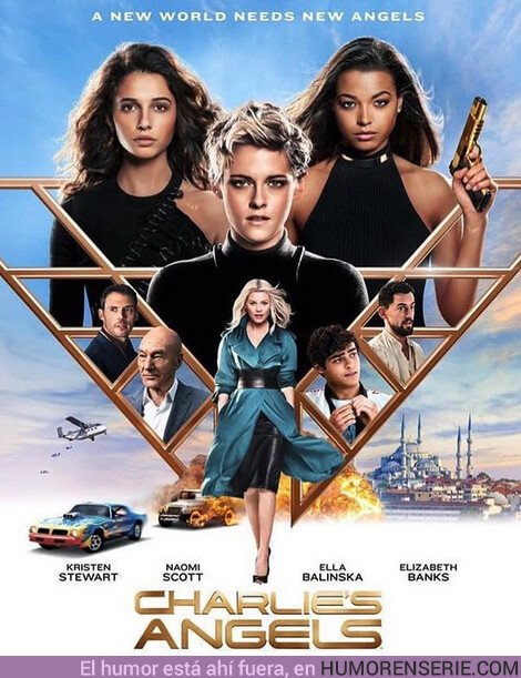42843 - Primer póster de la nueva versión de #LosángelesdeCharlie ??
