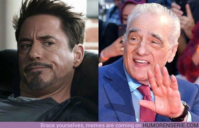 42900 - Robert Downey Jr responde a las críticas de Scorsese al No-cine de Marvel