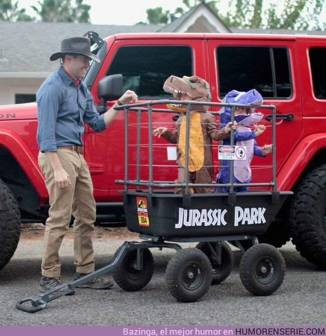 42942 - La versión más adorable de Jurassic Park qué vas a ver nunca