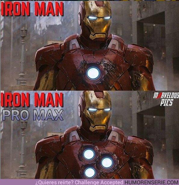 42956 - La nueva versión de Ironman hace mejores fotos