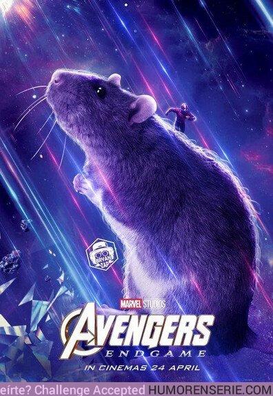 43153 - Que nadie olvide que se lo debemos todo a esta rata