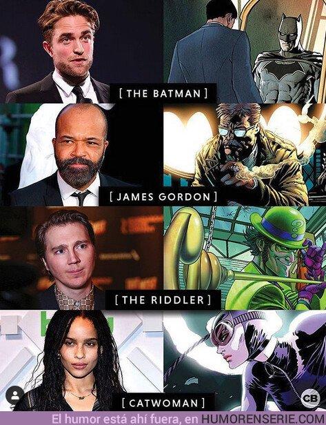 43215 - Primeros actores confirmados para la peli de Batman. Por @comicbook