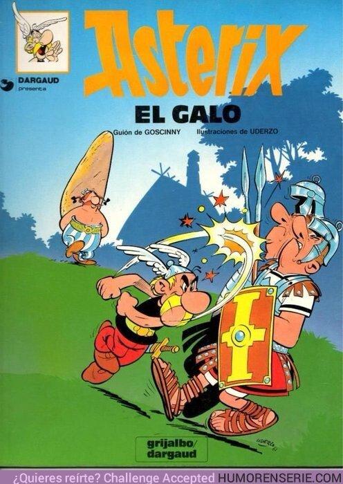 43497 - El primer cómic de Asterix se publicó un día como hoy en 1959 ¿Tenéis algún favorito?
