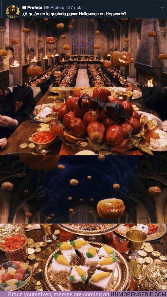 43572 - ¿A quién no le gustaría pasar Halloween en Hogwarts?