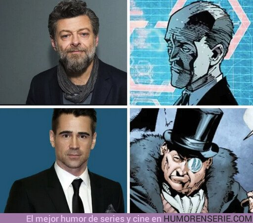 43775 - ¿Crees que encajan para el papel en la nueva peli de Batman?