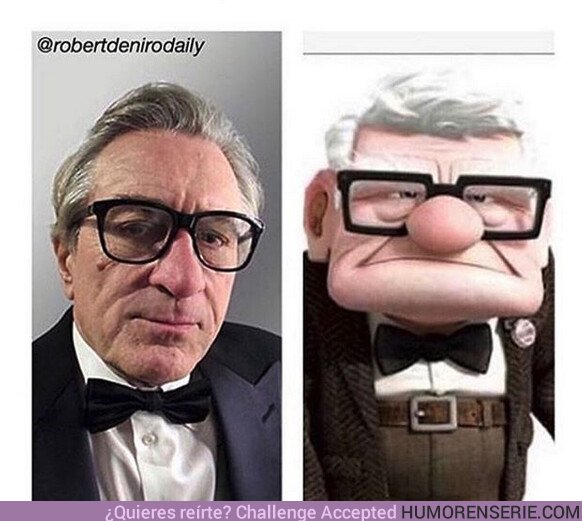 44047 - Robert sería el actor perfecto para el live action de UP