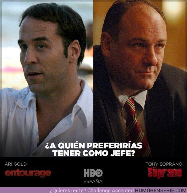44274 - ¿A quién te gustaría tener como jefe? Por HBO España