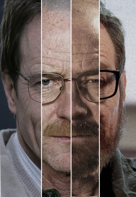 44474 - Las distintas caras de Breaking Bad