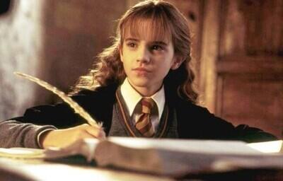 44481 - Descubren lo que Emma Watson escribió durante una mítica escena de Harry Potter