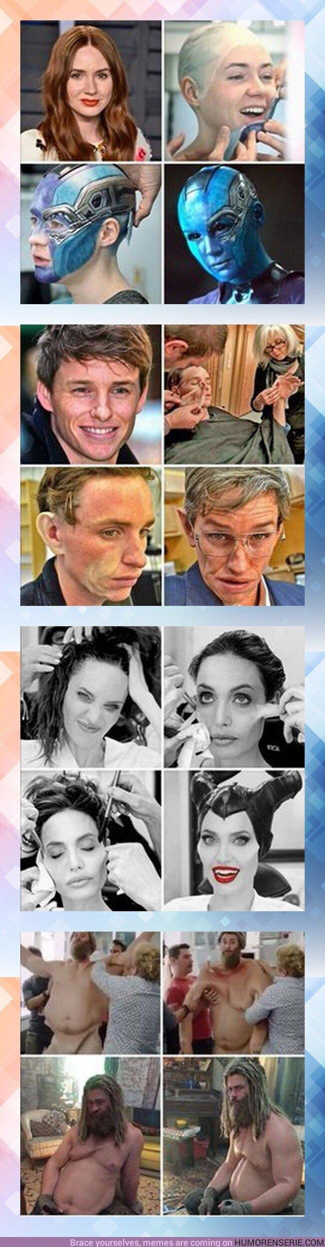 44539 - GALERÍA: La prueba de que el maquillaje es capaz de cosas increíbles