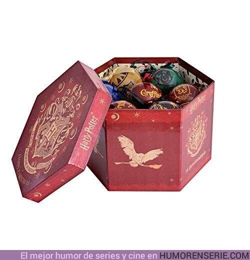 44542 - Te contamos dónde comprar estas geniales bolas de Harry Potter para el árbol de navidad