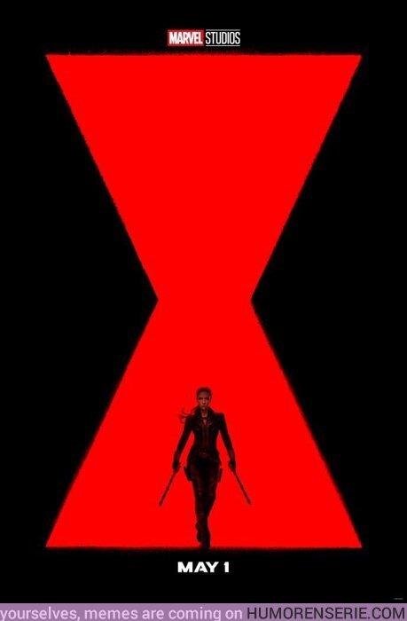 44581 - Primer póster oficial de Black Widow