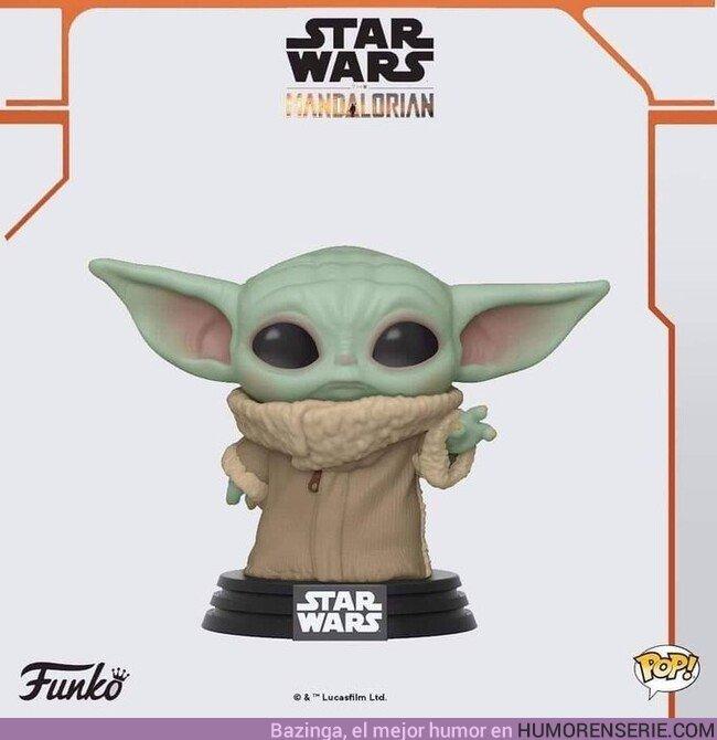 44587 - Acaba de anunciarse el Funko de Baby Yoda y es adorable