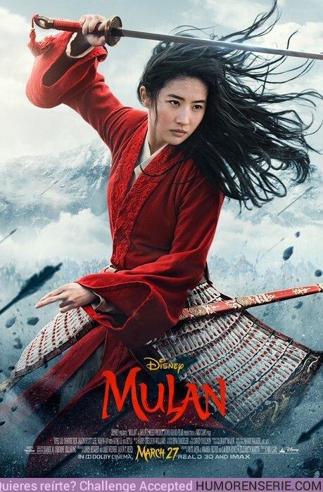 44682 - Primer póster oficial de Mulan ¿Qué te parece?