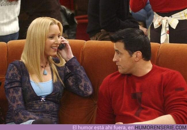 44750 - El creador de Friends explica por qué Phoebe y Joey nunca fueron pareja