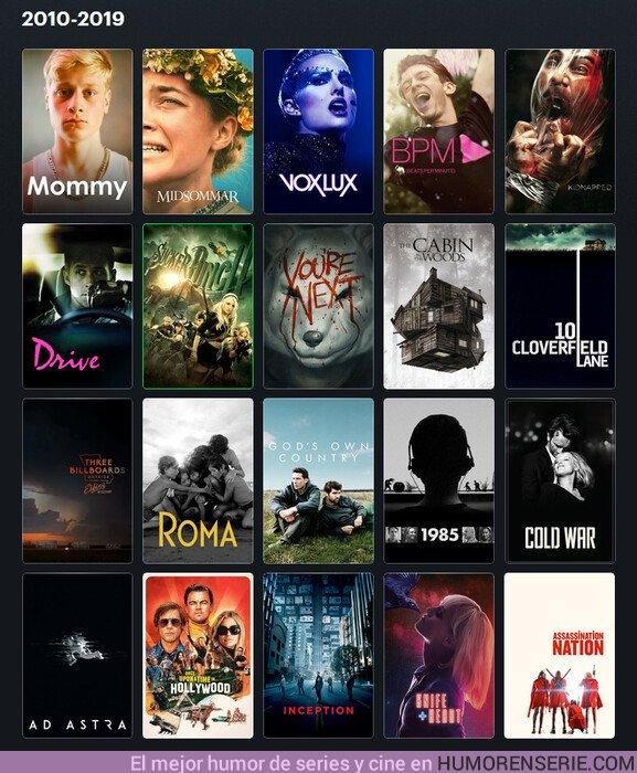 45134 - Algunas de las mejores películas de la de´cada. Por jandrusco