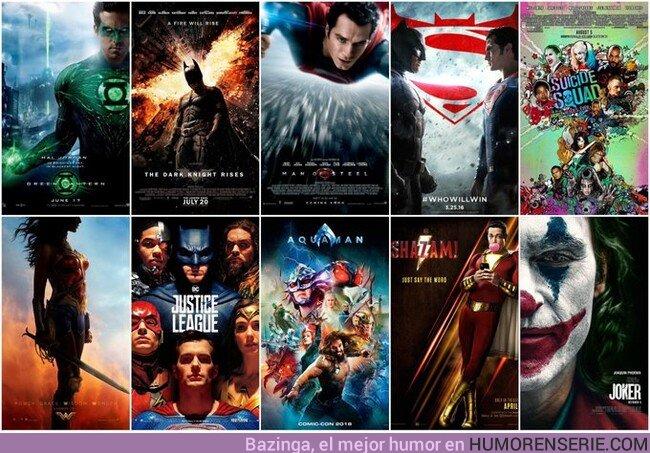 45236 - Las películas de DC de la pasada década