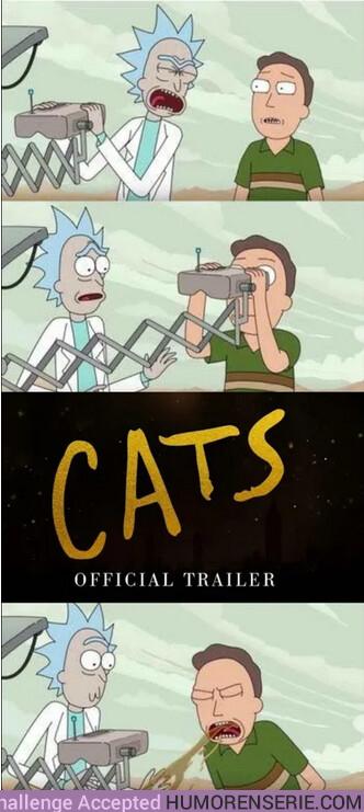 45280 - Todo el mundo traumado con el tráiler de Cats