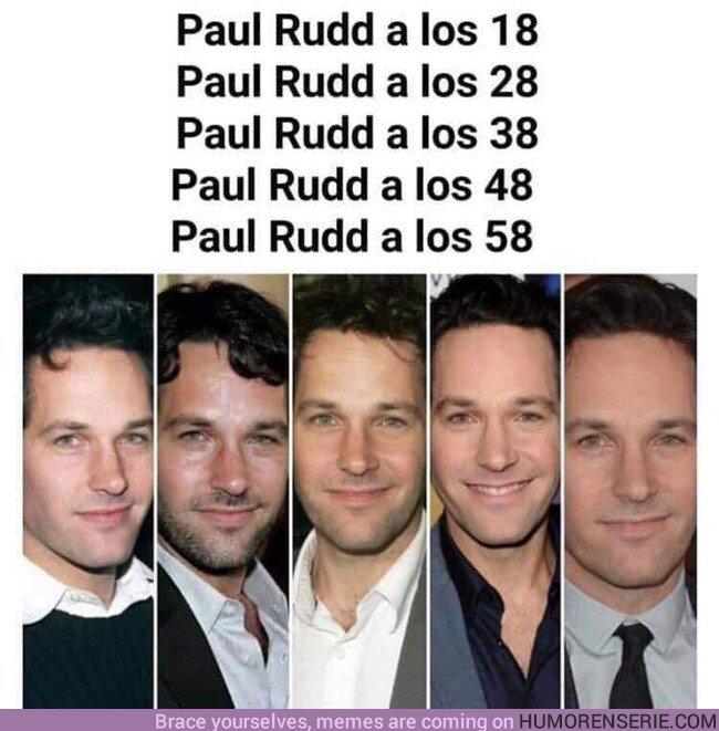 45293 - En serio, que Paul Rudd nos diga cuál es el secreto
