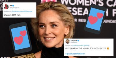 45389 - Bloquean el perfil a Sharon Stone en una conocida app de citas y ella responde con este mensaje
