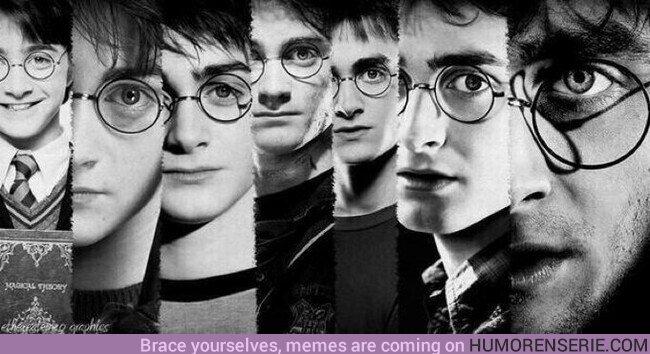 45440 - La evolución de Harry Potter a lo largo de los años