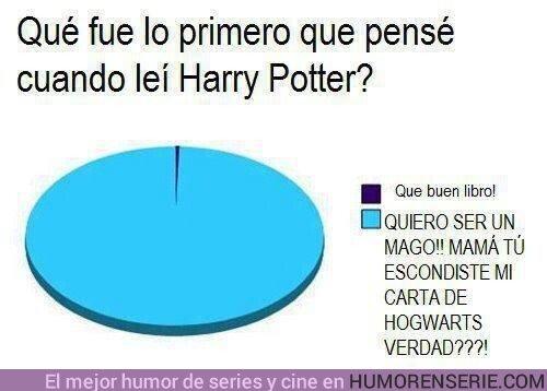 45458 - Lo primero que pensé cuando leí Harry Potter
