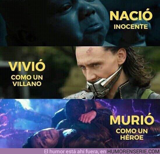46110 - La vida de Loki resumida en tres imágenes