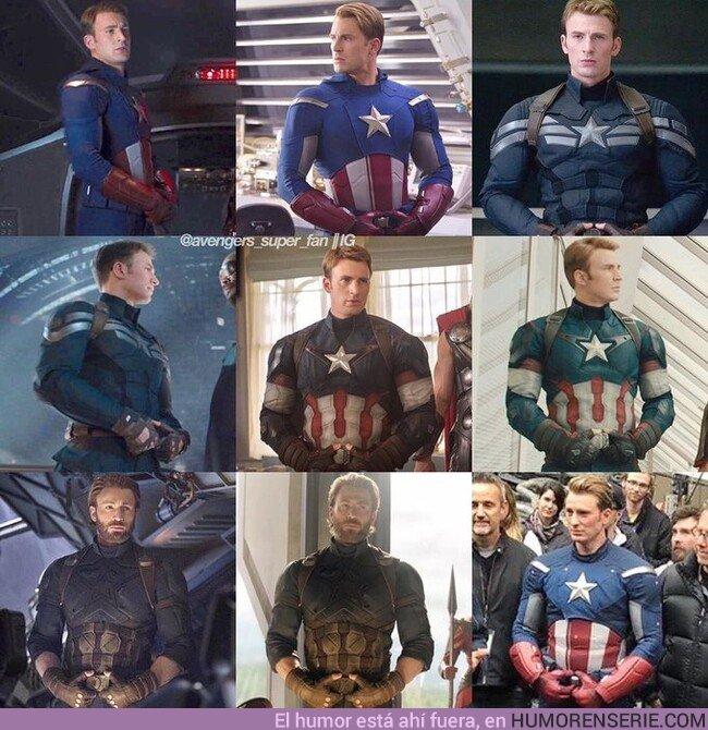 46473 - La evolución del Capitán América