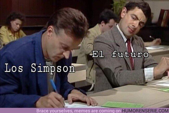 46523 - Si no lo han contado Los Simpson no existe