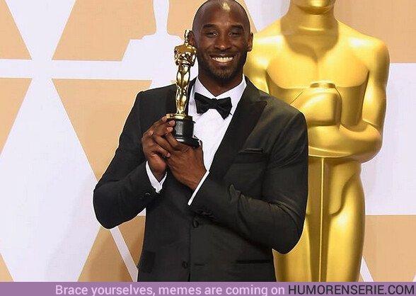 46527 - Kobe ganó por #DearBasketball un premio Oscar a mejor cortometraje animado. DEP