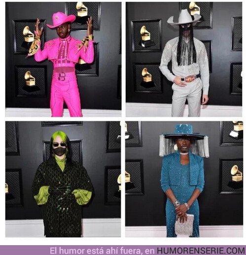 46568 - En los Grammys todo el mundo se vistió como un villano de Batman