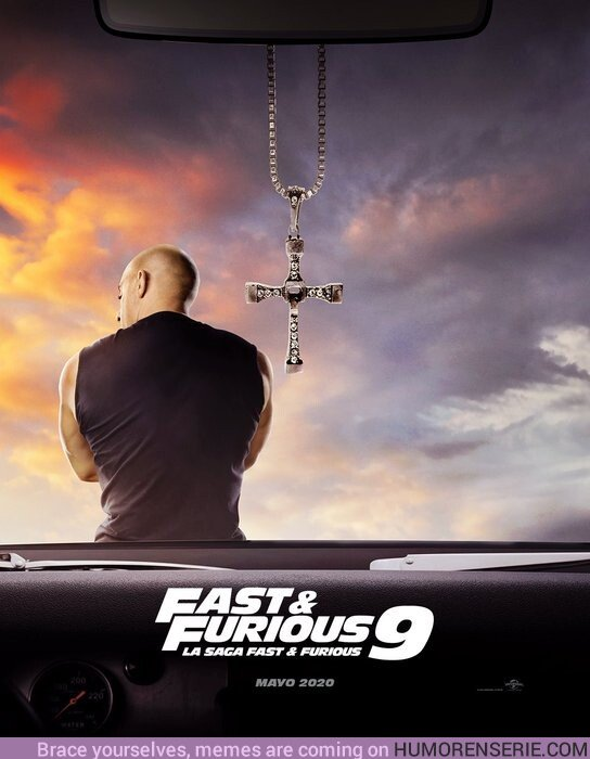 46609 - Primer póster de Fast&Furious 9