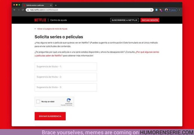 46701 - Así le puedes pedir a Netflix que añada tu peli o serie favorita a su catálogo
