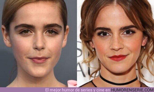 46716 - La actriz de Sabrina responde a los que la confunden con Emma Watson