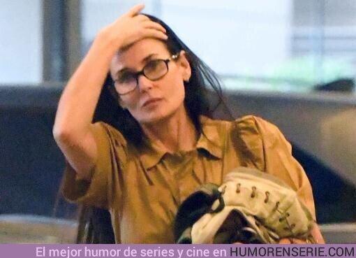 46946 - La dura confesión de Demi Moore: Esnifé tanta cocaína que casi me abro un agujero en la nariz