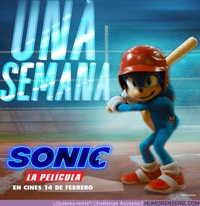 47076 - Queda justo una semana para el estreno de la película de Sonic