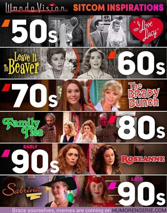 47102 - La inspiración de todas las sitcoms históricas en Wandavision