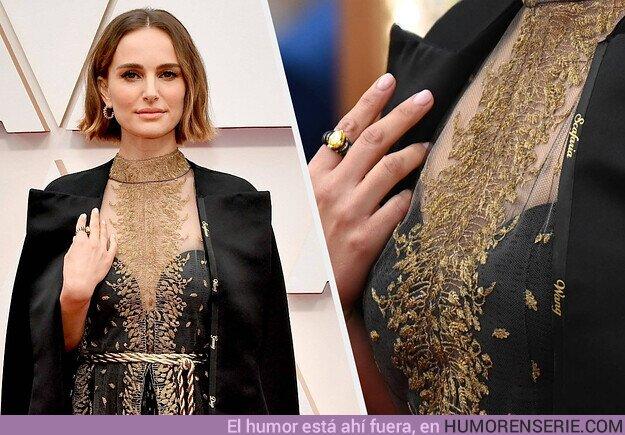 47169 - Natalie Portman deslumbra en Los Oscar con un mensaje feminista en su ropa