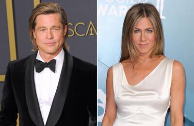 47269 - Así fue el encuentro privado de Jennifer Aniston y Brad Pitt tras ganar el Oscar