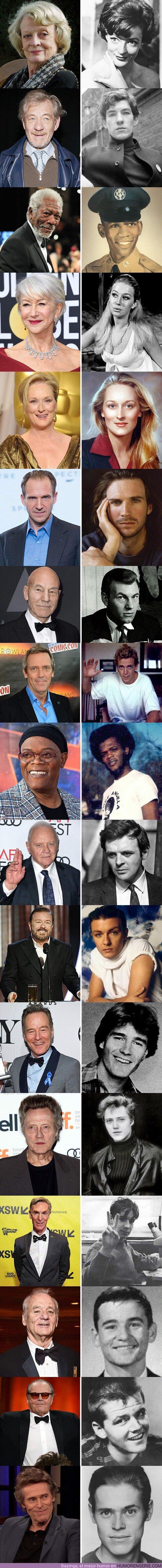 47308 - 17 actores que nunca has visto cuando eran jóvenes
