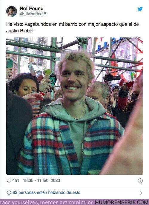 47324 - Justin Bieber reaparece y todo el mundo flipa con su aspecto físico